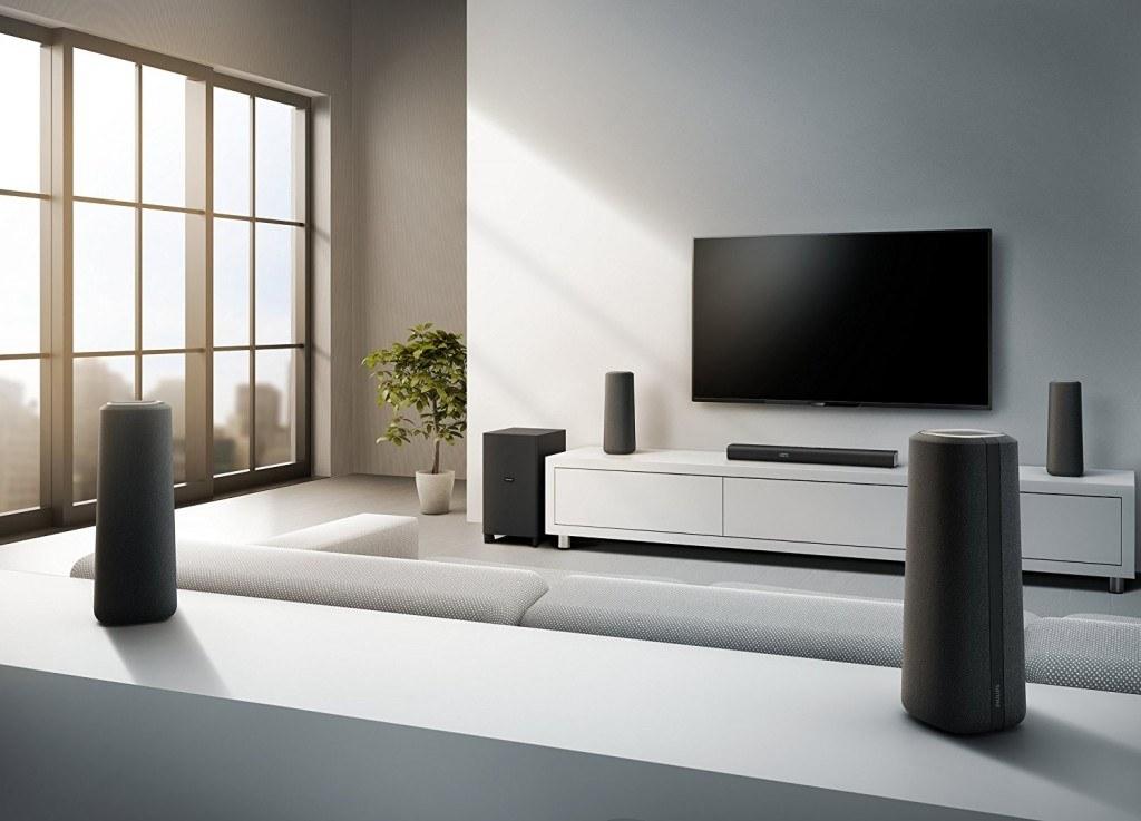 comment fonctionne un home cin ma sans fil. Black Bedroom Furniture Sets. Home Design Ideas